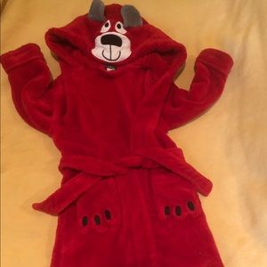 Super Plush Red Hooded Rope - Bear - Toddlers
